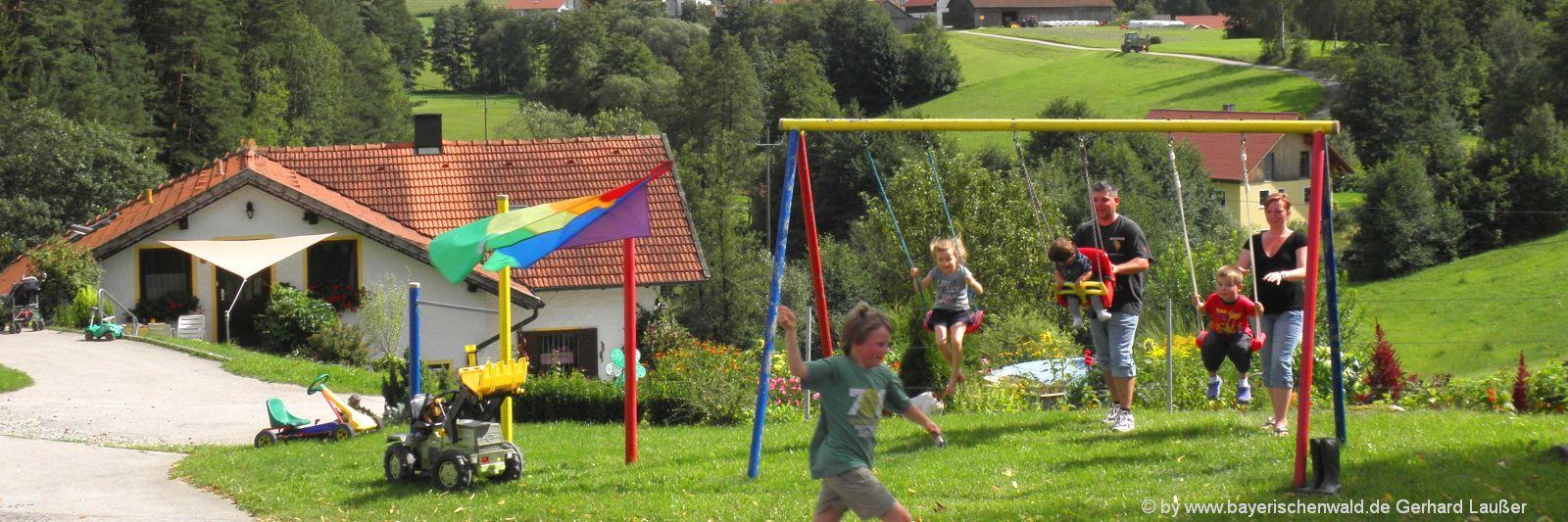Bayerischer Wald Urlaub mit Kindern auf dem Bauernhof